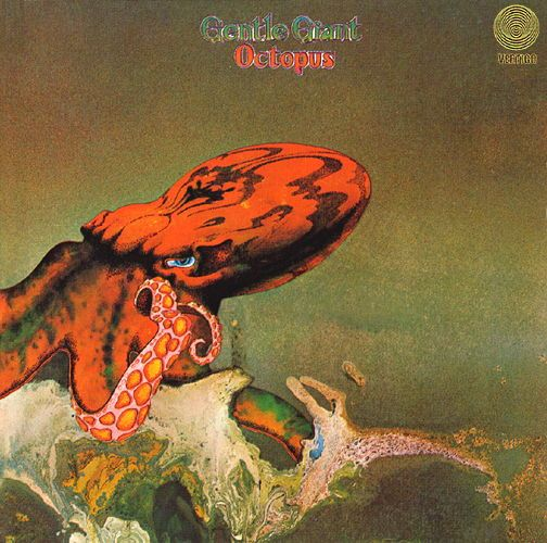 Gentle Giant album Octopus, cover art by Roger Dean