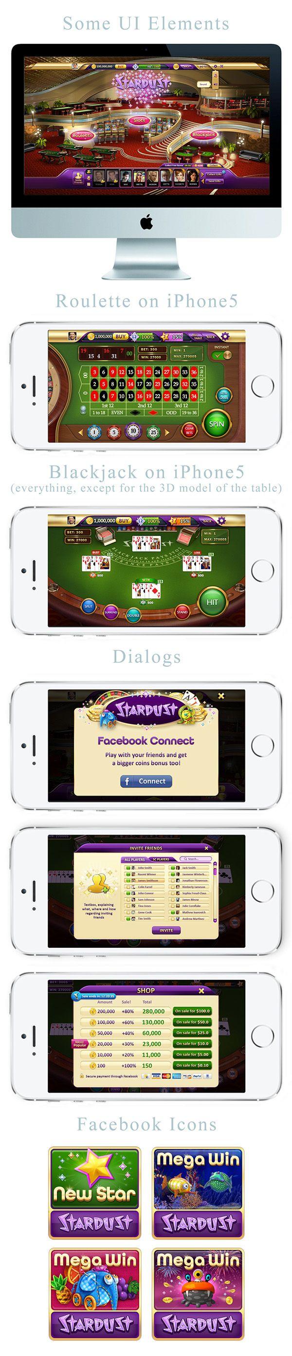 Stardust Casino UI & Dialogs