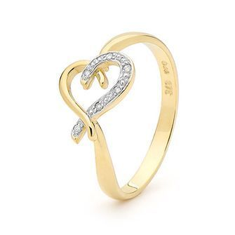 Buy our Australian made Romantic Diamond Set Gold Ring - BEE-25247 online. Explore our range of custom made chain jewellery, rings, pendants, earrings and charms.