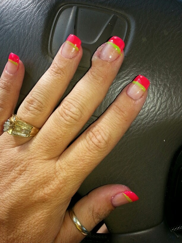 15 best my nail designs images on pinterest nail designs black hot pink and lime green prinsesfo Choice Image