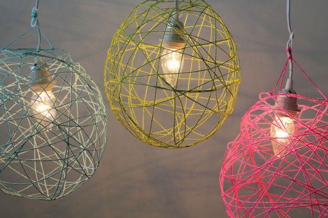 How to Make Illuminated Yarn Lanterns | Brit + Co.