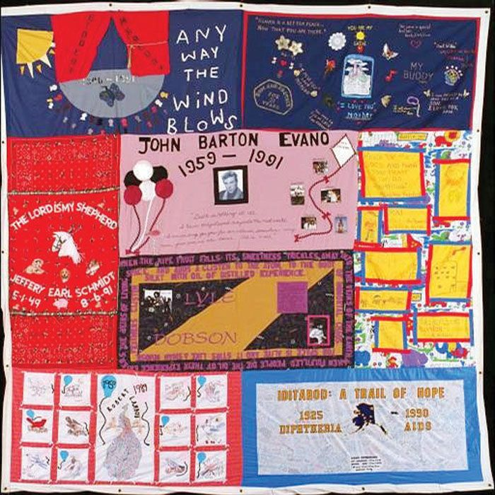 Part of AIDS Quilt to be on display at Lee Street Theatre | Salisbury Post