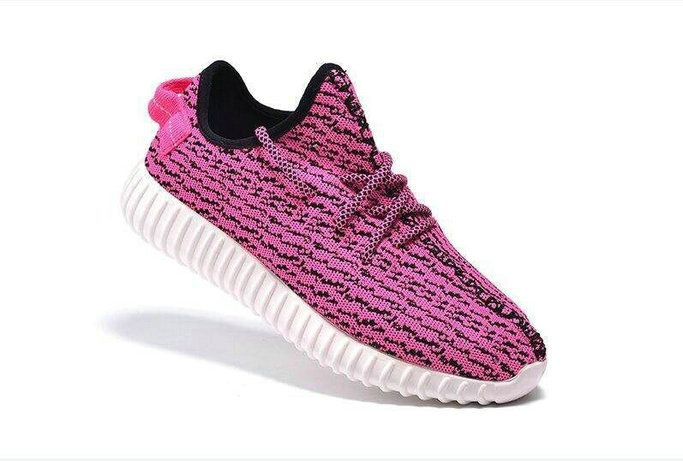 Free Shipping Only 69$ Kanye West Women Adidas Yeezy 350 Boost Low Pink  Flash Pink