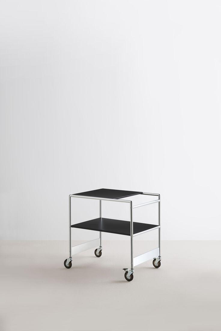 serving trolley SIR, Design Frank Urech for MOX