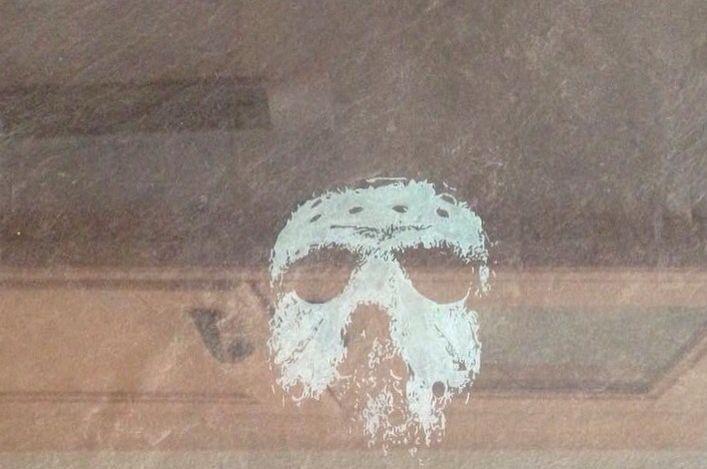 Jason voorhees mask engraving