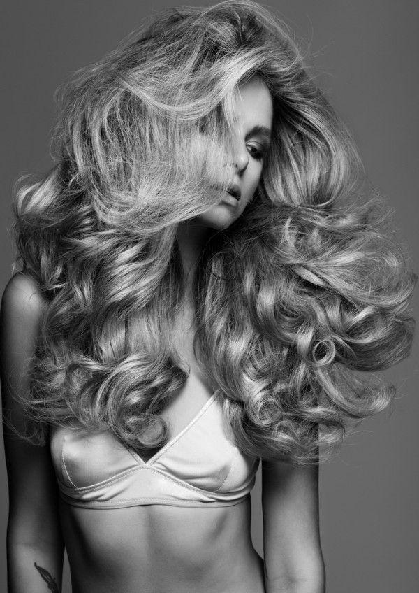 curls + volume = Sexy
