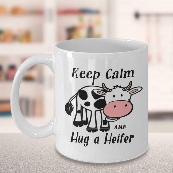 Cow coffee mug Cow cup Cow lover mug Cow mug Cow tea cup Mug 10639 by MugsOfLife on Etsy
