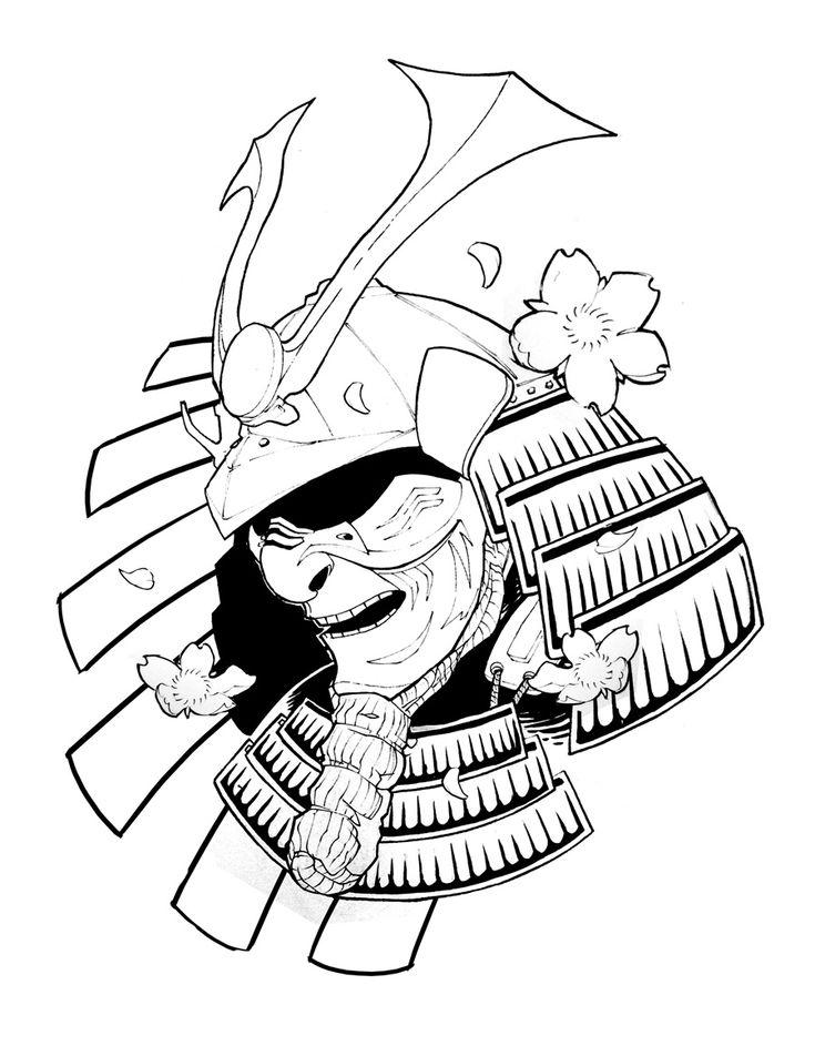 [ A R C H I V E ]: Samurai Helmet Tattoo