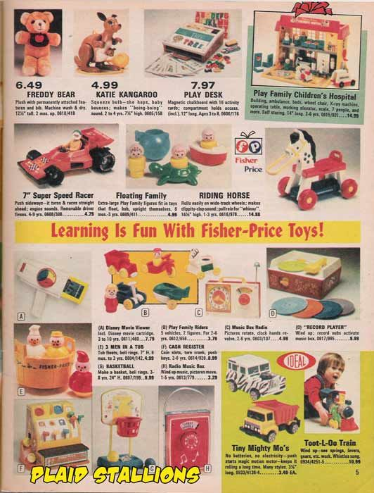 Preschool Toys 1976 Catalog Toy Catalogs Preschool Toys