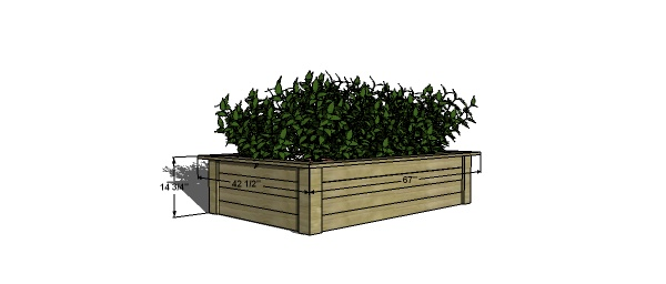 adjustable raised bed | The Design Confidential // Free ...