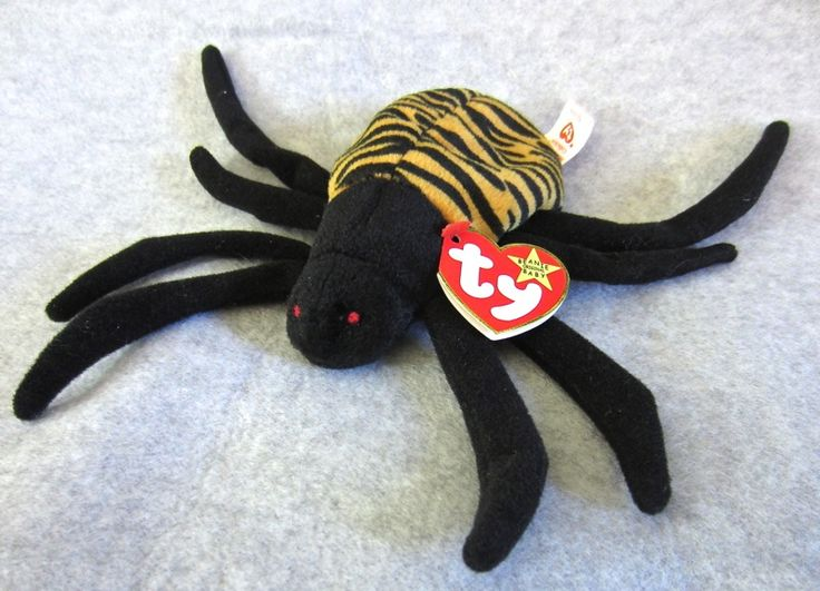 Rare Ty Beanie Babies   RARE Ty Beanie Babies Collectible Stuffed Spinner Oct 28 96 473 Inside ...