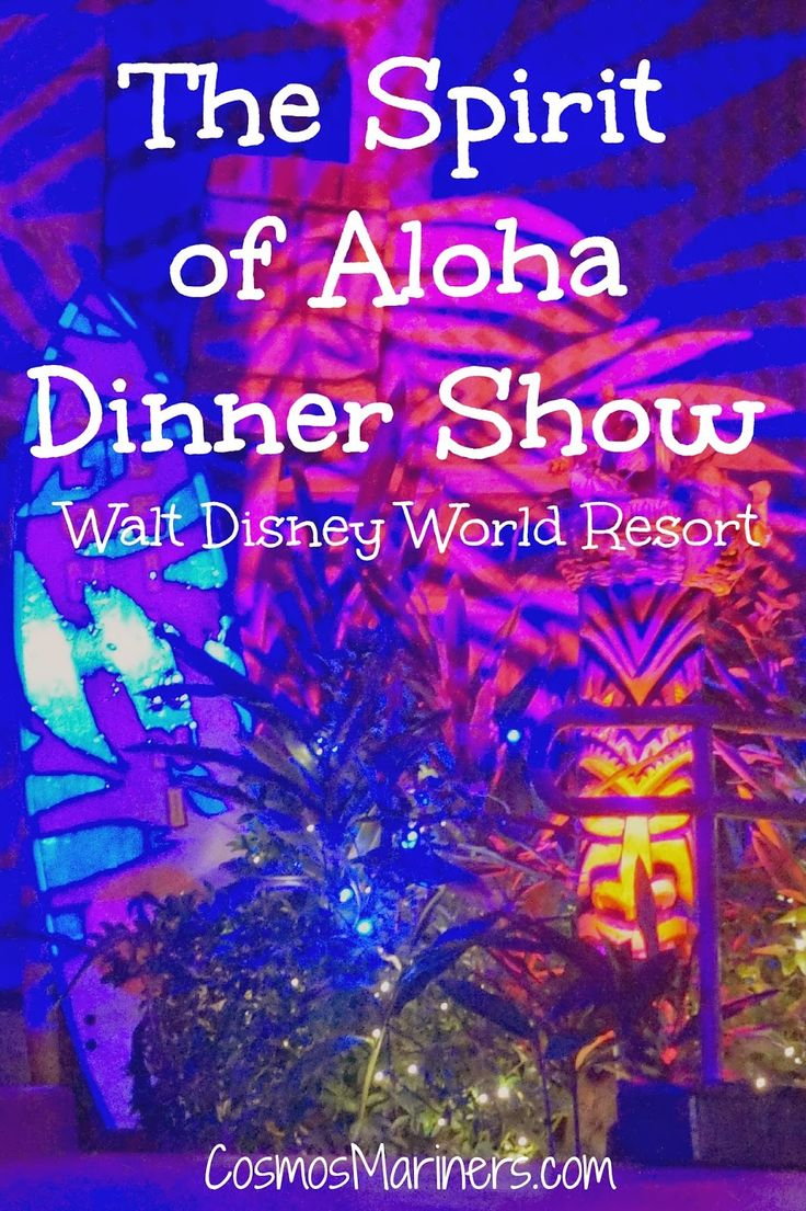 Spirit of Aloha Dinner Show at Disney's Polynesian Resort | CosmosMariners.com