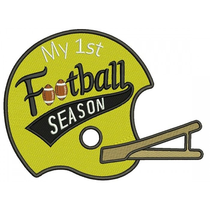 42 Best Football Embroidery Designs Images On Pinterest Machine