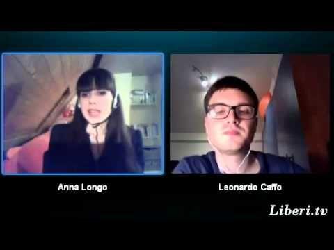 http://www.liberi.tv - Striscia Filosofica 22 marzo 2013, Leonardo Caffo dialoga con Anna Longo, Dottore in filosofia estetica presso Université Paris 1 - Pa...