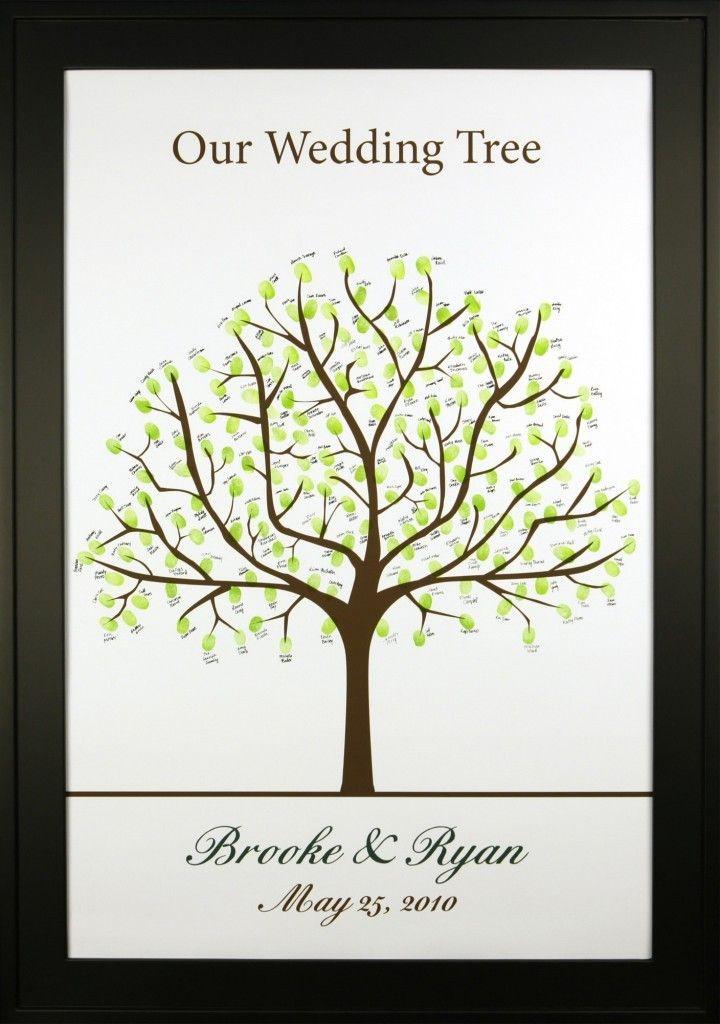 Best 25+ Thumbprint tree wedding ideas only on Pinterest ...