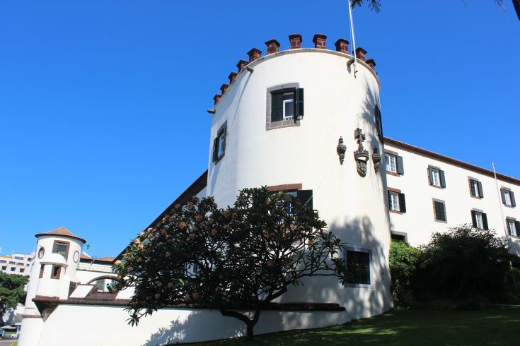Madeira - Funchal. One of several castles that guarded the city from pirates and marauders in past centuries.