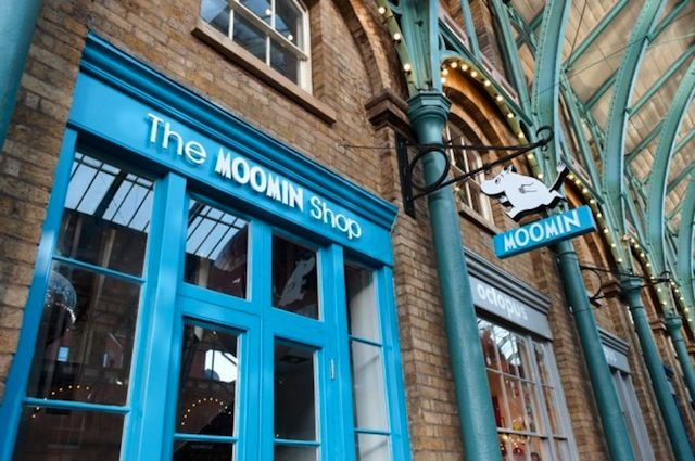 The Moomin Shop in Covent Garden, London