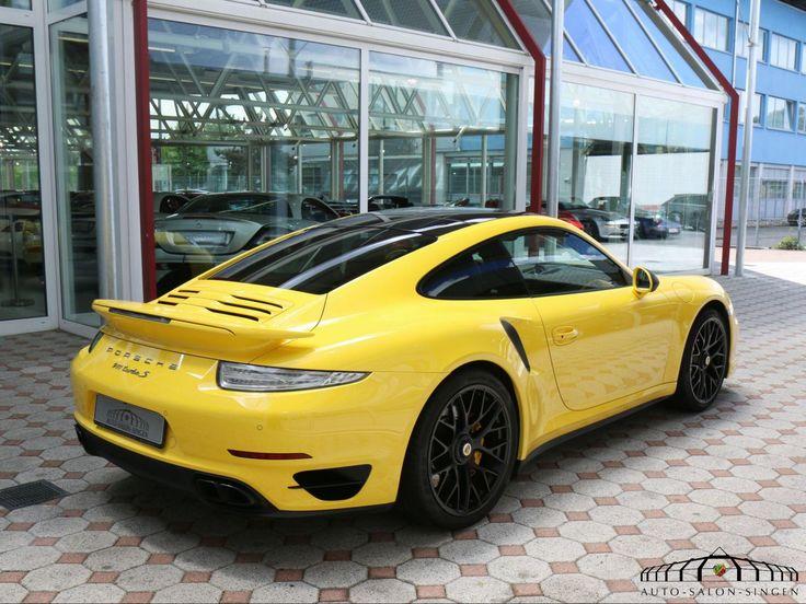 Porsche 991 Turbo S Coupé - Auto Salon Singen