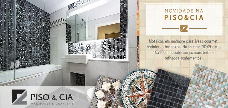 Cliente Piso & Cia. Direção de arte, Mosaicos, Piso