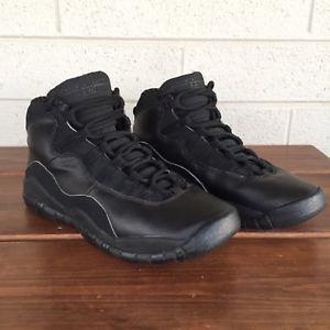 wholesale dealer c1d47 a07e9 Air Jordan 10 Retro GS Black Stealth 2005 (310806-010) Size 7Y   eBay