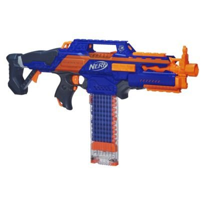 NERF® N-Strike Elite Rapidstrike CS-18 Blaster - Online Item #: 14497532 - Store Item Number (DPCI): 087-11-0338 - $26.49 online price TEMP PRICE CUT reg: regular price  $44.99