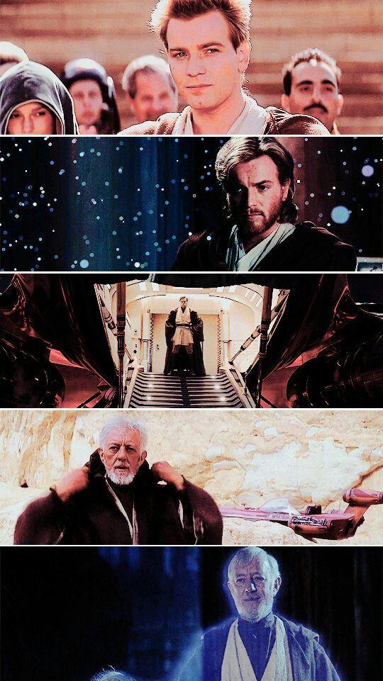 The journey of Obi-Wan Kenobi
