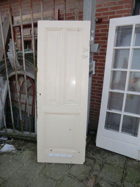 Paneeldeur - Paneeldeuren - Deuren   Te koop bij Leen Oude Bouwmaterialen   Oude deuren