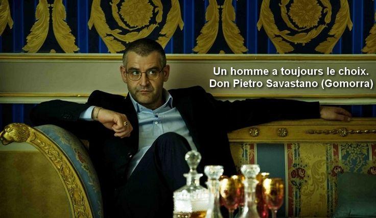 Don Pietro Savastano Gomorra Season 02 Un homme a toujours le choix A man has always the choice