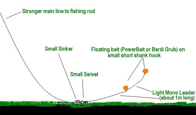 Floating trout rig fishing rigs pinterest trout for How to fish for lake trout