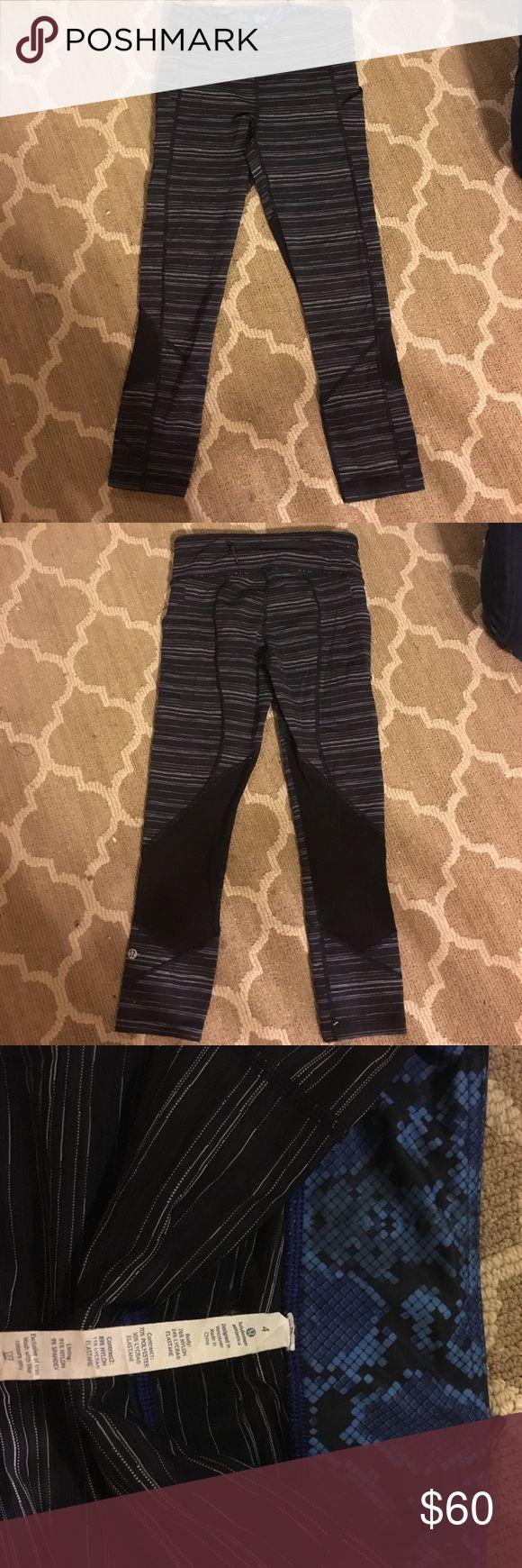 Lululemom leggings SALE Athletic lululemon leggings, size 4 lululemon athletica Pants Leggings