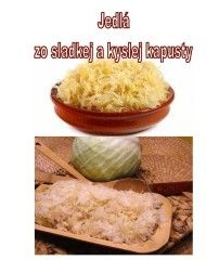 Jedlá zo sladkej a kyslej kapusty
