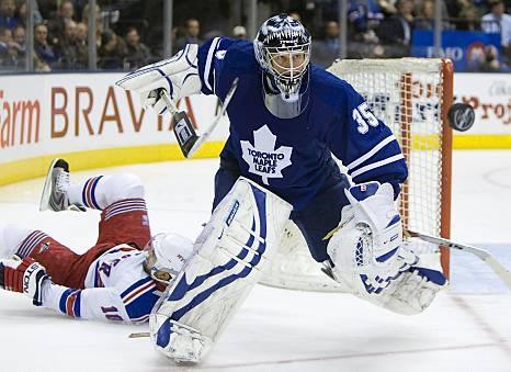 Toronto Maple Leafs Vesa Toskala