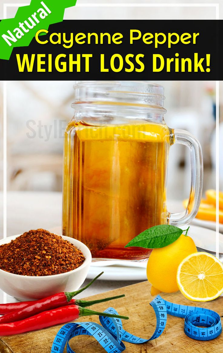 Herbs for weight loss Cayenne Pepper Weight Loss Drink For Losing Weight Naturally!
