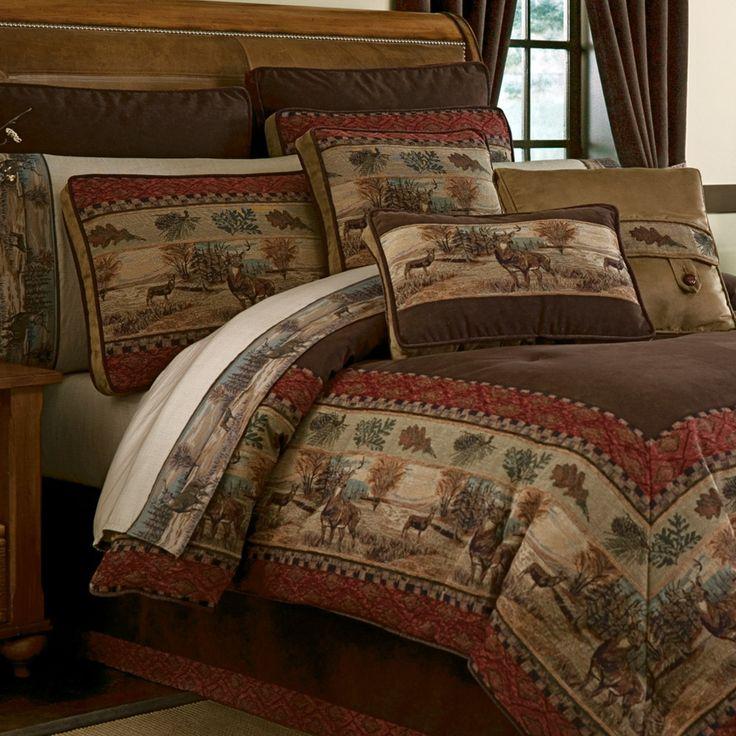 Deer Valley Comforter Bedding By Croscill Comforters