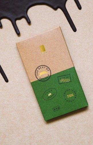 Lyra Rustic Chocolate Packaging