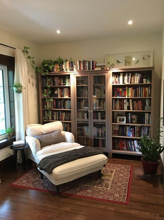 8 Comfortable Modern Home Library Designs Small Living Room Design Small Modern Living Room Small Living Room Decor