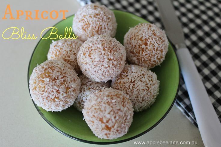 Apricot Bliss Balls …