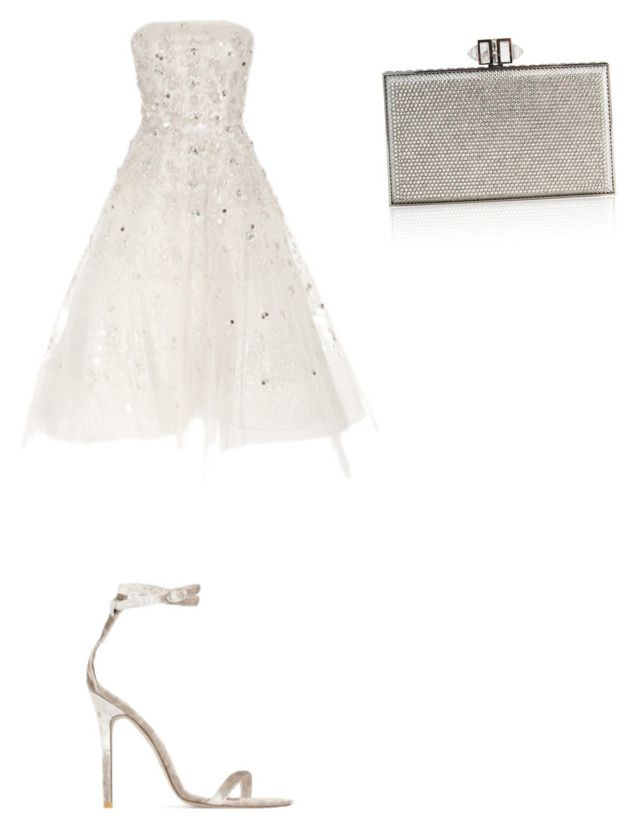 """Untitled #2072"" by ioan-jeni on Polyvore featuring Oscar de la Renta, Baldwin and Judith Leiber"