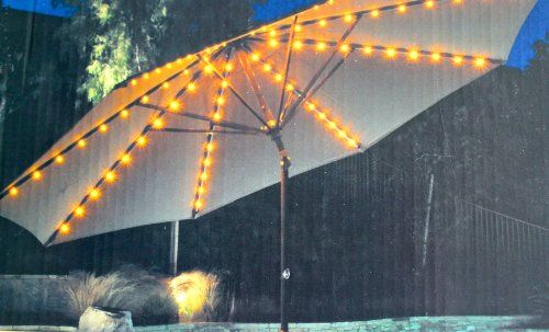 17 Best ideas about Patio Umbrella Lights on Pinterest Umbrella for patio, Deck umbrella and ...