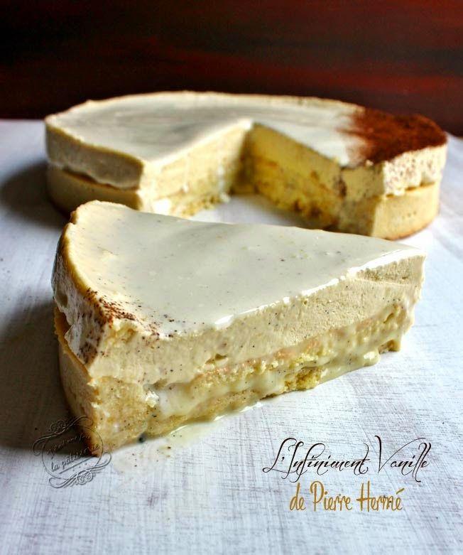 Tarte infiniment vanille de Pierre Hermé (Il était une fois la pâtisserie)