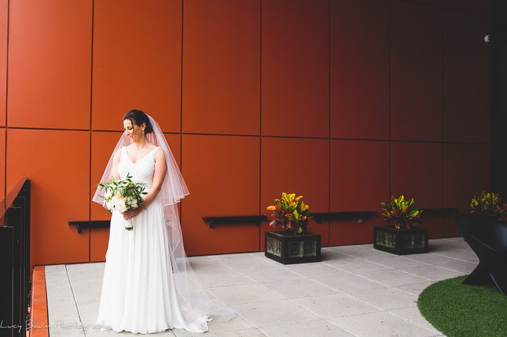 Stunning bride against a super-cool backdrop at the Alt Hotel in Montreal.