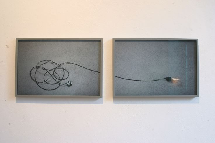 2- Lorraine Neeson, Disconnected, Digital pigment print on photo rag (Diptych), €2200
