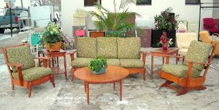 The Garage Sale Archeologist: Mid-century Hard Rock Maple & Furniture Consignment Stores