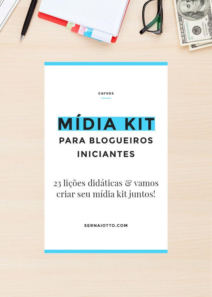 Curso online de mídia kit para blogueiros iniciantes. Começa no dia 18 de maio! Cadastre-se! http://sernaiotto.com/2016/02/18/curso-online-de-midia-kit/
