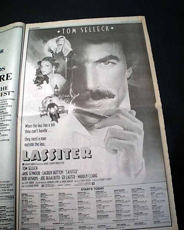 Best FOOTLOOSE Film Movie Opening Day AD & Review 1984 Los Angeles CA Newspaper   eBay