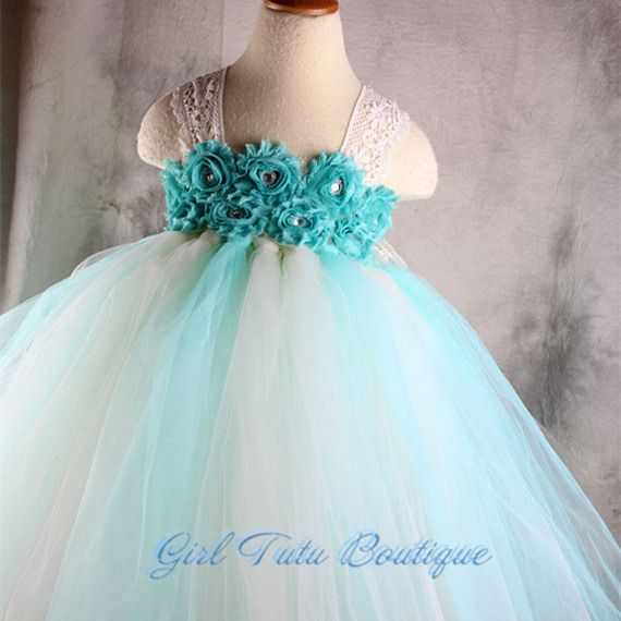 Cheap dress me prom dresses, Buy Quality dresses for larger ladies directly from China dress blouses plus size Suppliers:                 Aqua Mint Flower Baby Girls Tutu Dress with Lace Straps Children Girl Flower Dress For Party B