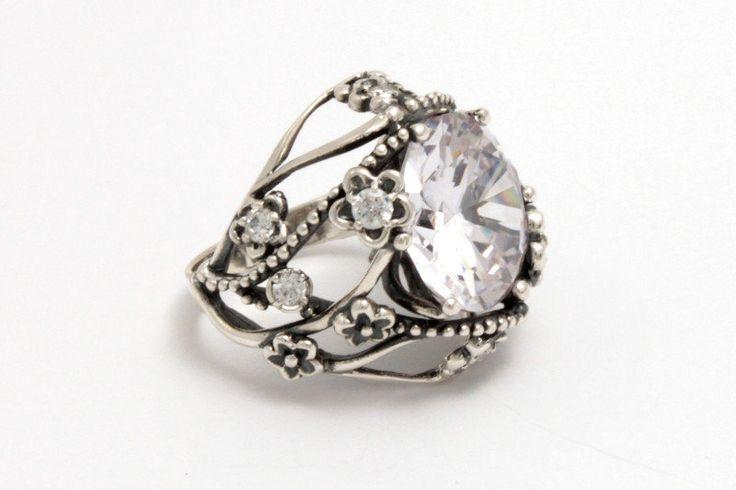 Серебряное кольцо Сент-Люсия, фото 1