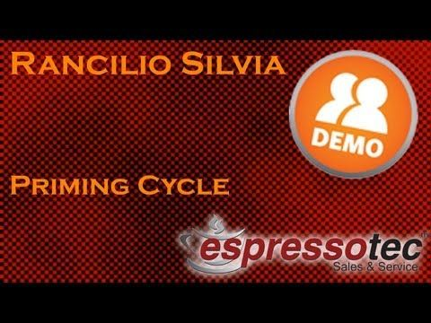 Rancilio Silvia - Beginners Guide - Meeting Miss Silvia, Priming Cycle - YouTube