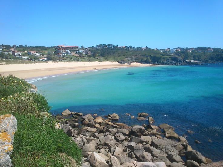 Paradise in A Lanzada, Galicia, Spain.