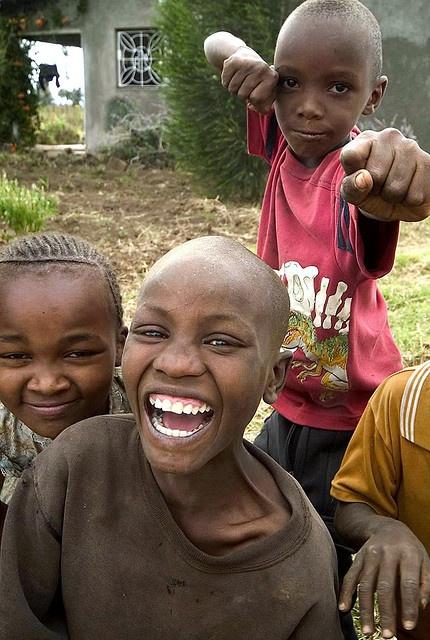 Happy children in Mangu  Look like that happy smiles of children in Malawi!! One of my best memories!!